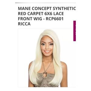 NEW!! MANE CONCEPT!! 6x6 Lace parting wig